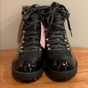Juicy Couture Indulgence Faux Fur Hiker Boot